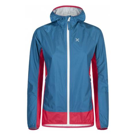 Dámská turistická bunda Montura Teorema Jacket Blu Ottanio-Rosa Sugar