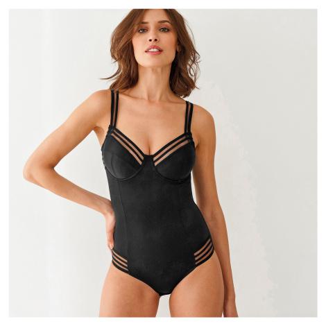 Blancheporte Tvarující body s kosticemi černá, koš.E