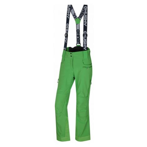 Dámské lyžařské kalhoty HUSKY Galti zelená