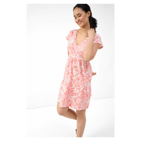 Bavlněné šaty babydoll Orsay