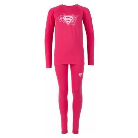 Warner Bros KIDS THERMO SET růžová - Dětské funkční termoprádlo