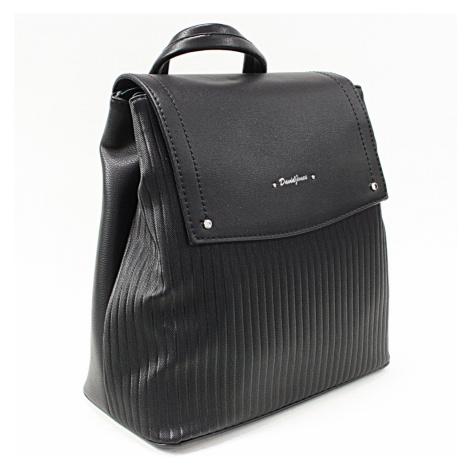 Černý elegantní dámský batoh Kalcey David Jones