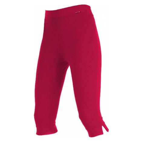 LITEX Leggings v 3/4 délce 99402306 červená
