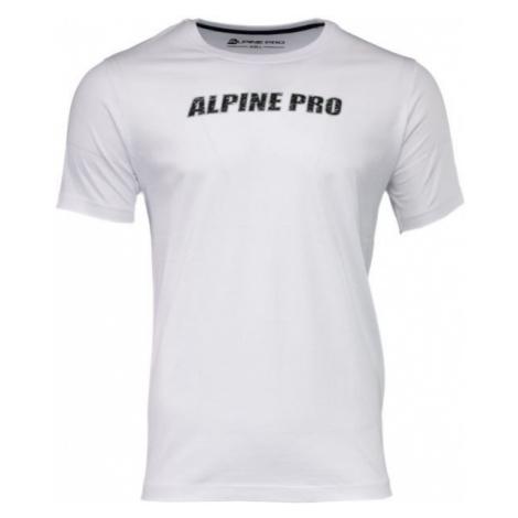 ALPINE PRO LEMON černá - Pánské triko