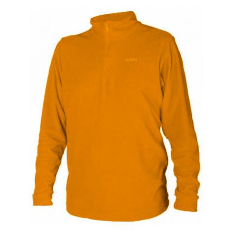 Brugi 4ALH pánská fleecová tenká mikina dlouhý rukáv Barva: 819 orange