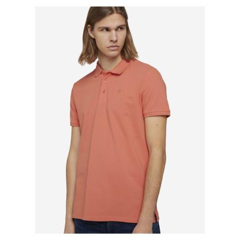 Polo triko Tom Tailor Oranžová