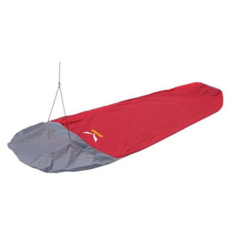 Bivakovací vak Salewa PTX Bivibag II Barva: červená/šedá