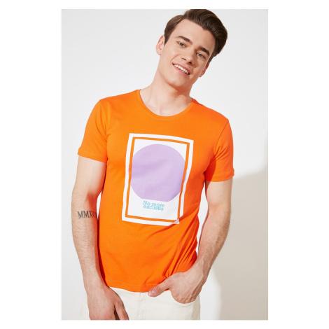 Trendyol Orange Men's T-Shirt