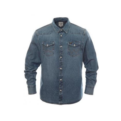Košile Wrangler 27MW 2Years pánská modrá
