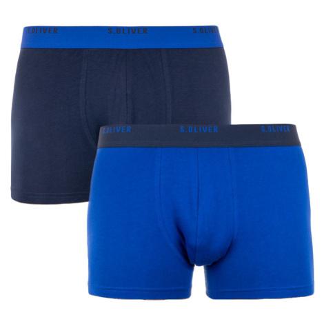2PACK pánské boxerky S.Oliver modré (26.899.97.5601.18D5)