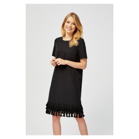 Moodo šaty dámské zdobené třásněmi