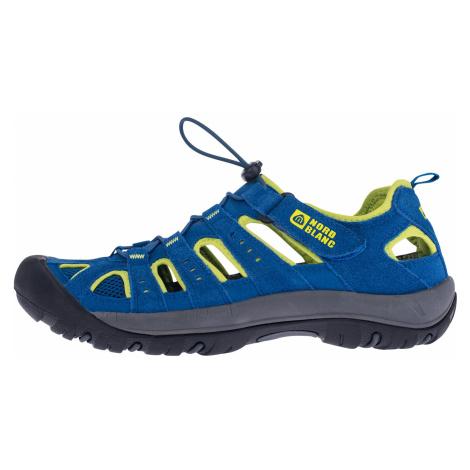 Nordblanc Orbit pánské kožené sandály modré