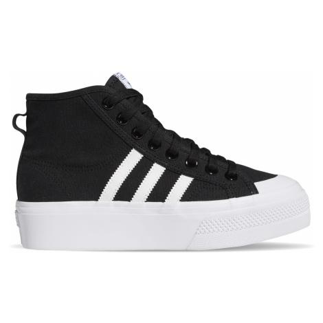 Adidas Nizza Platform Mid W černé FY2783