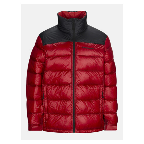 Bunda Peak Performance Frost Glacier Down Jacket - Červená