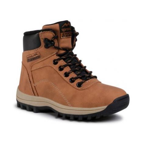Šněrovací obuv SPRANDI EARTH GEAR CP40-242JZ-1 Ekologická kůže /-Ekologická kůže