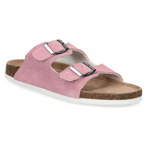 Kožená domácí obuv dámská De Fonseca