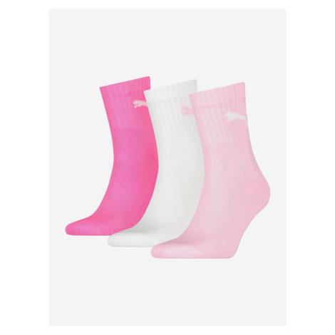 3PACK ponožky Puma vícebarevné (231011001 422) M