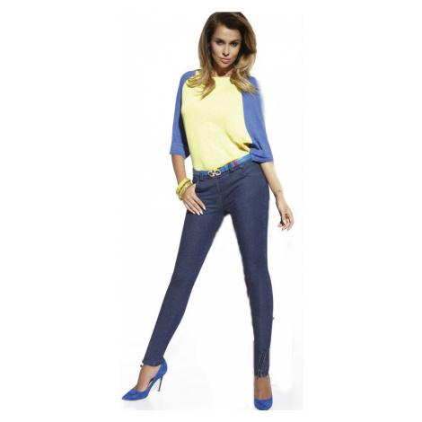 Bas Bleu | Natalie jeans | modrá