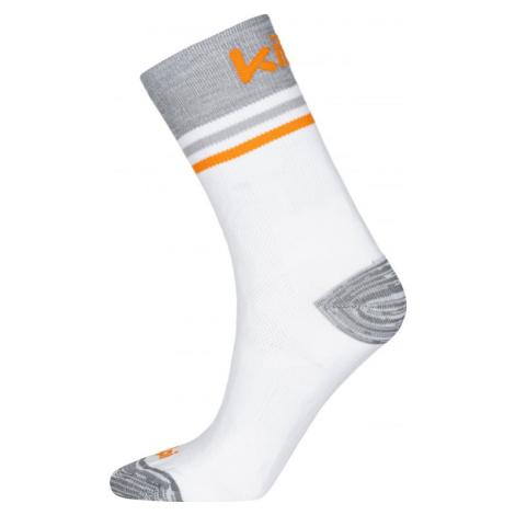 Unisex ponožky KILPI BORENY-U bílá