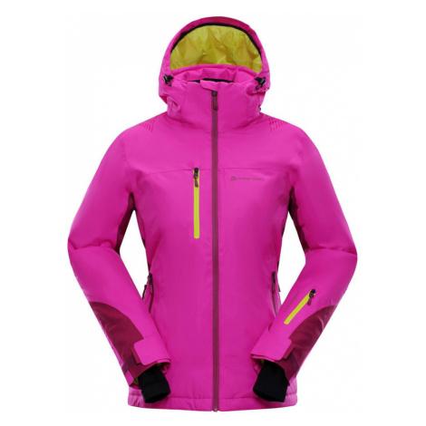 ALPINE PRO MIKAERA 2 Dámská lyžařská bunda LJCM285411 fuchsiová