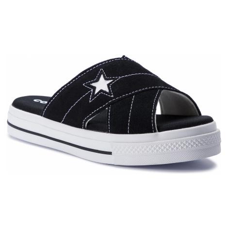 Nazouváky CONVERSE - One Star Sandal Slip 564143C Black/Egret/White
