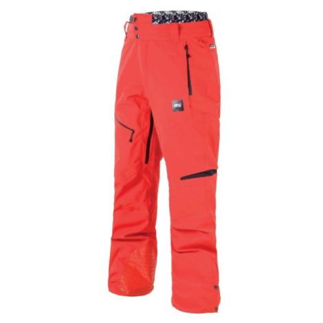 Picture TRACK červená - Pánské zimní kalhoty