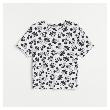Reserved - Bavlněné tričko Mickey Mouse - Vícebarevná