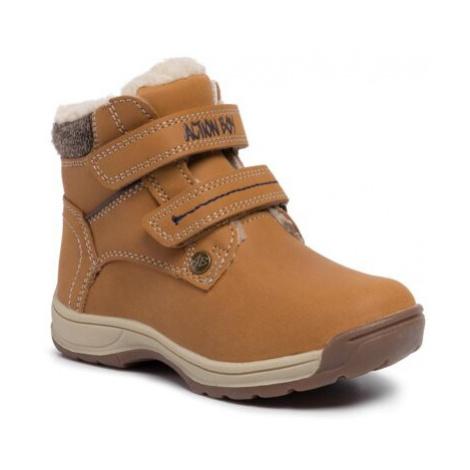 Šněrovací obuv Action Boy CP07-71024-02 Ekologická kůže /-Ekologická kůže