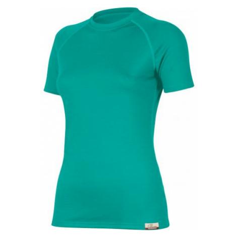 Dámské vlněné Merino triko ALEA 160g - tyrkysové Lasting