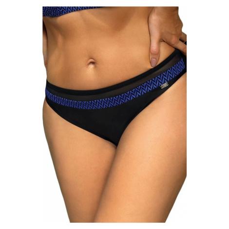 Self Self plavkové kalhotky Luxury modrá + černá