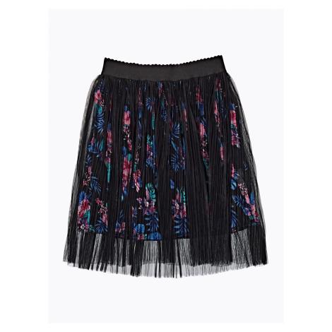 GATE Áčková sukně s květinovou krajkou