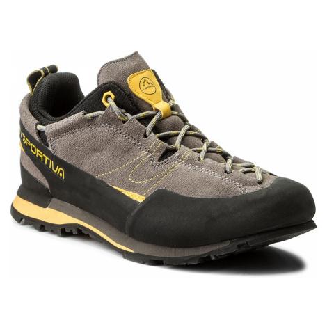 Trekingová obuv LA SPORTIVA - Boulder X 838GY Grey/Yellow