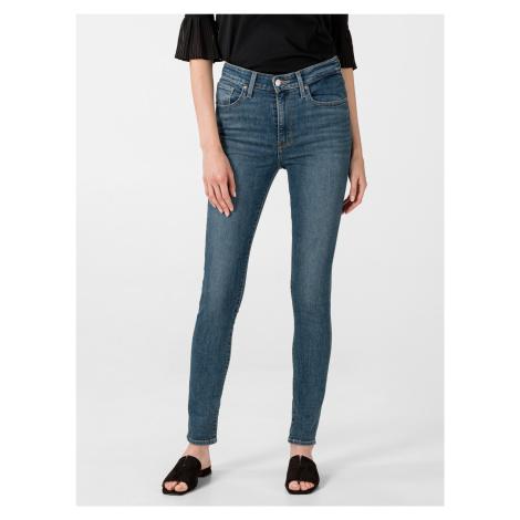 721™ High-waisted Skinny Jeans Levi's® Modrá Levi´s
