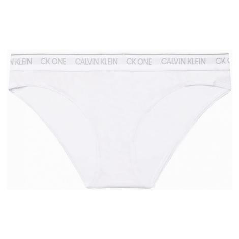 Bílé kalhotky CK One Cotton Launch Bikini Calvin Klein