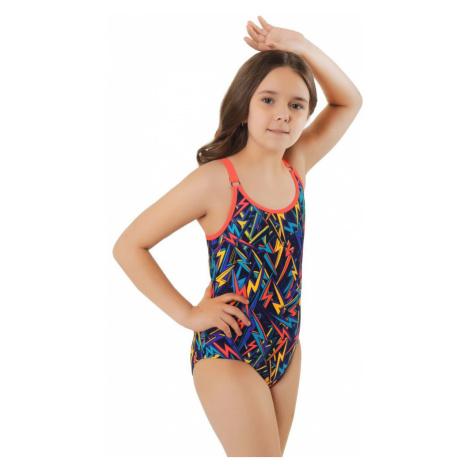 Zalewski Dívčí jednodílné plavky Vendulka barevné