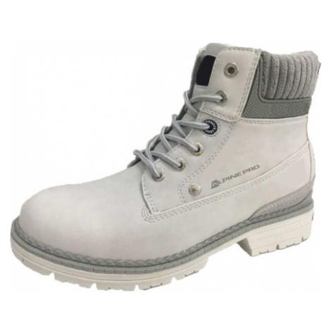 ALPINE PRO LUCINA Dámská outdoorová obuv LBTM179773 šedá