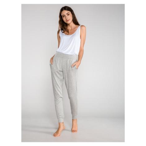 Kalhoty na spaní Calvin Klein Šedá