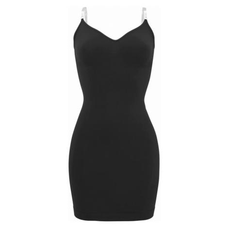 LASCANA Stahovací šaty černá