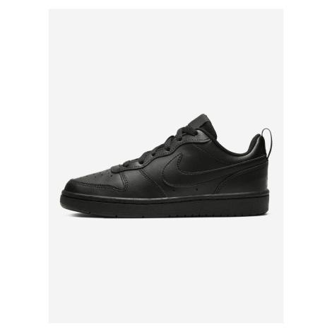 Court Borough Low 2 Tenisky dětské Nike Černá
