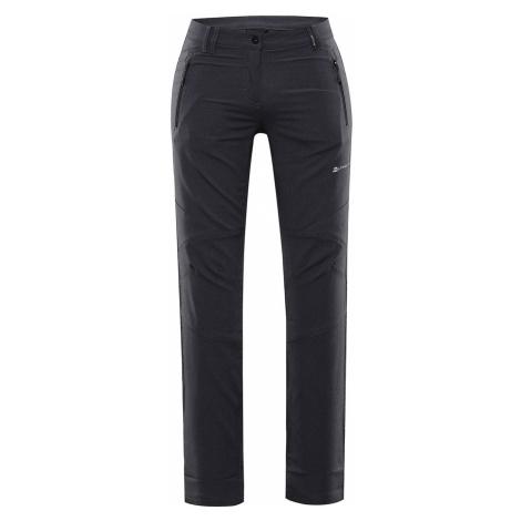 ALPINE PRO MURIA 4 Dámské softshellové kalhoty LPAR341990 černá