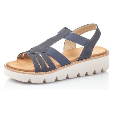RIEKER Sandály modrá