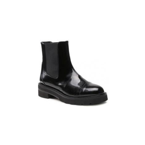 Kotníková obuv s elastickým prvkem Stuart Weitzman