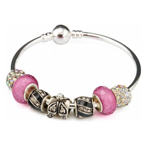 Linda's Jewelry Náramek s přívěsky Princess INR014