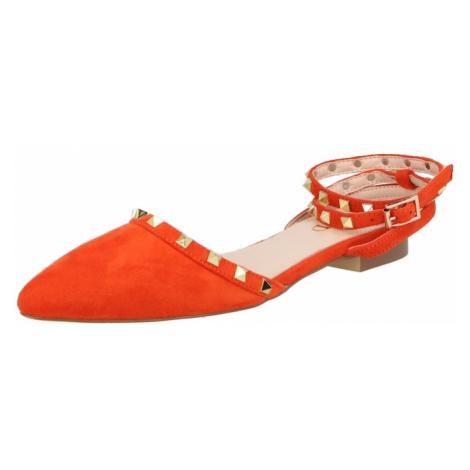 Raid Baleríny s řemínky 'LAURENA' jasně oranžová