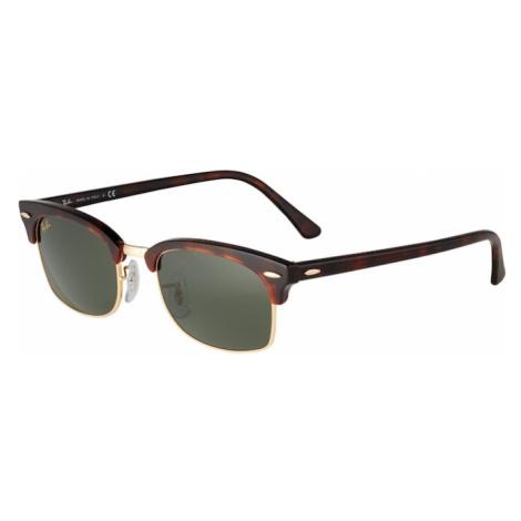Ray-Ban Sluneční brýle tmavě zelená / hnědá