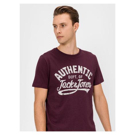 Jeanswear Triko Jack & Jones Červená
