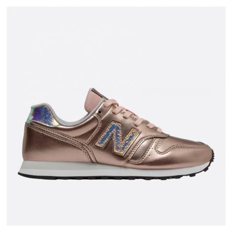 Dámské růžovo zlaté tenisky New Balance WL373GA2
