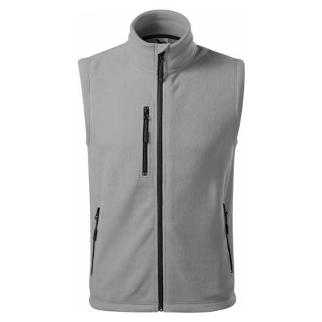 Malfini Exit Uni fleece vesta 52524 Světle šedá