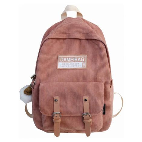 Dámský manšestrový batoh FashionEU
