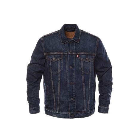 Džínová bunda Levi´s® The Trucker pánská tmavě modrá